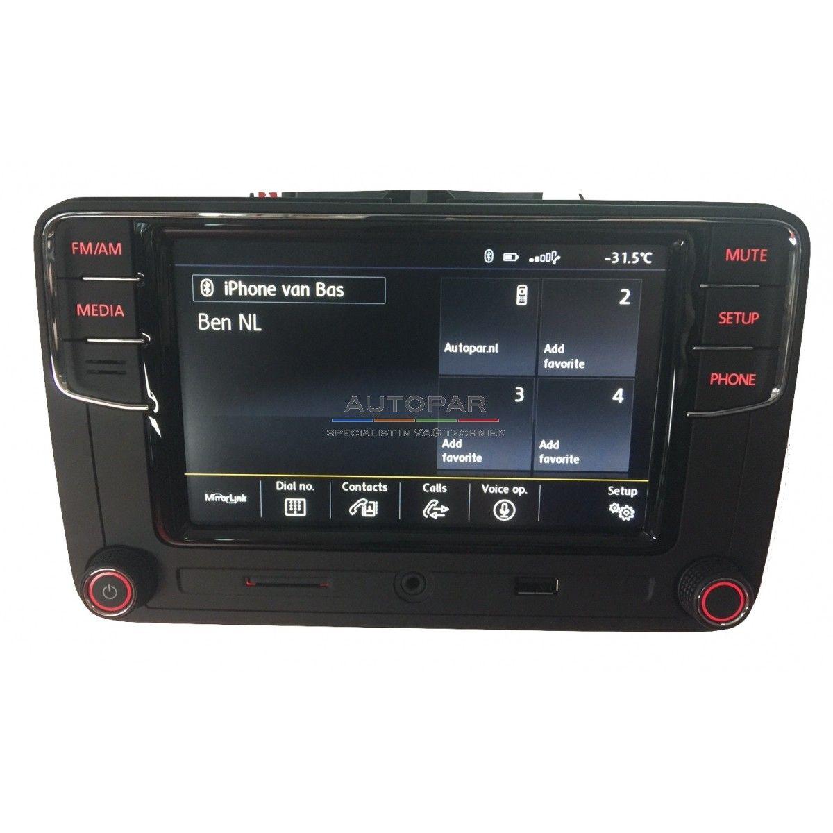 RCD660 Multimedia bluetooth radio Volkswagen
