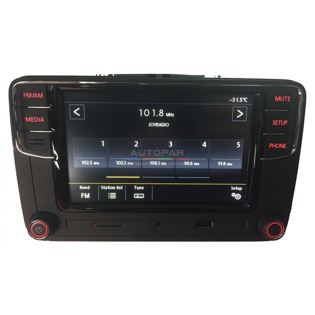 RCD660 Multimedia bluetooth radio Volkswagen front