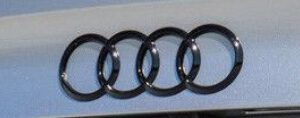 Audi logo Zwart achterklep origineel Audi