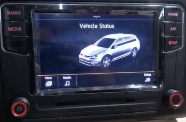 Polo 6C car functies Carplay radio